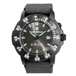 在庫販売 Smith&Wesson スミス&ウェッソン SWAT ウォッチ 腕時計 SWW-45 ラバーストラップ|egears