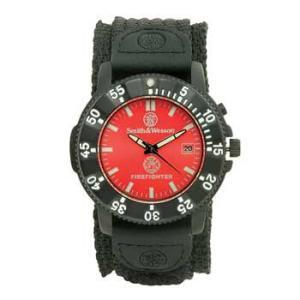 在庫販売 Smith&Wesson スミス&ウェッソン Fire Fighter ファイヤーファイターウォッチ 腕時計 SWW-455F|egears