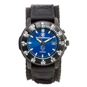 在庫販売 Smith&Wesson スミス&ウェッソン Police ポリスウォッチ 腕時計 SWW-455P|egears