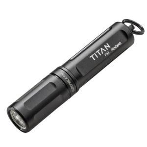 在庫販売 日本正規品 SUREFIRE シュアファイヤー シュアファイア TITAN タイタン 125ルーメン コンパクトライト 単4電池1本|egears