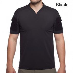 Velocity Systems ベロシティシステムズ BOSS Rugby shirt タクティカルシャツ 吸汗、速乾 ミリタリー半袖シャツ 米国製 VS-BR egears