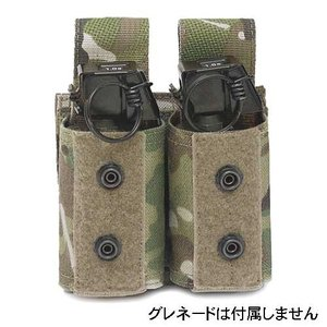 WARRIOR ASSAULT SYSTEMS WAS Double 40mm Grenade ダブル40mmグレネードポーチ  W-EO-D40GP|egears