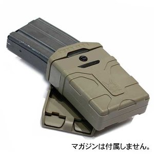 WARRIOR ASSAULT SYSTEMS WAS Polymer Mag 5.56mm ポリマー シングル マグポーチ M4用 W-EO-PM4|egears