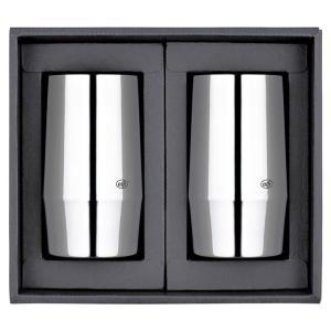 アルフィー 真空断熱タンブラーペア  AFDA-320GP1  ■商品:タンブラー(約口径7×高さ1...