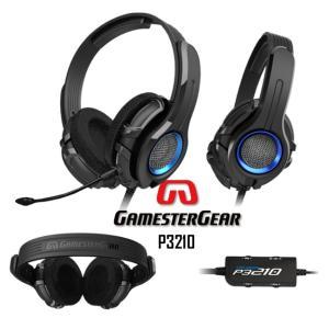 PS3 / PC 用 ゲーム ヘッドホン Oblanc GamesterGear P3210|egmart
