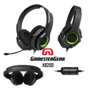 Xbox 360 用 ゲーム ヘッドホン Oblanc GamesterGear XB200|egmart