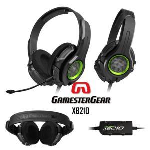 Xbox 360 用 ゲーム ヘッドホン Oblanc GamesterGear XB210|egmart