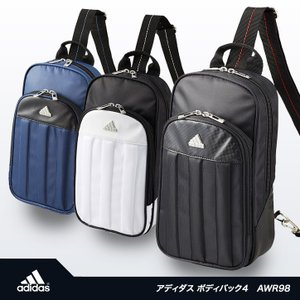 アディダス ゴルフ ボディバッグ4 adidas Golf AWR98(バッグ かばん)(ゴルフ用品 グッズ ギフト プレゼント ゴルフ好き) egolf