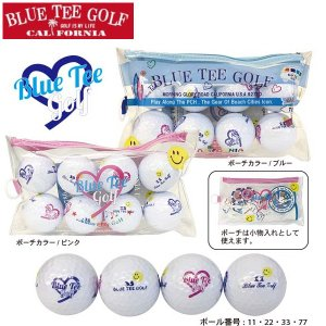 BLUE TEE GOLF ブルーティーゴルフ  レディースゴルフボール BA-001(ゴルフコンペ景品 ゴルフコンペ 景品 賞品 コンペ賞品)|egolf