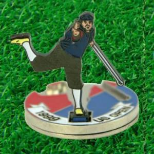 おもしろゴルフマーカー P・S フリップアップマーカー(メール便対応可) (ゴルフ マーカー ボールマーカー おもしろグッズ)|egolf