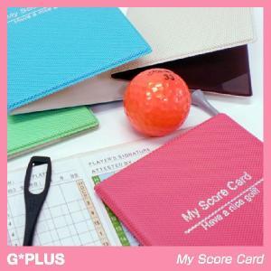 ジープラス My Score Card スコアカードホルダー(メール便対応可) (ゴルフ 雑貨)|egolf