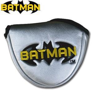 バットマン パターカバー(マレット用) BATMAN(ゴルフ キャラクター ヘッドカバー おもしろ)(ゴルフ用品 グッズ ギフト プレゼント)|egolf