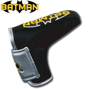 バットマン パターカバー(ブレード用) BATMAN(ゴルフ キャラクター ヘッドカバー おもしろ)|egolf