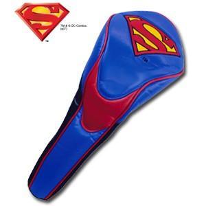 スーパーマン パフォーマンス ヘッドカバー(ドライバー用) SUPERMAN(ゴルフ キャラクター ヘッドカバー おもしろ)|egolf