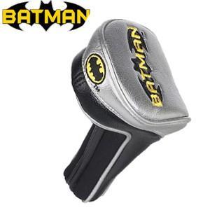 バットマン パフォーマンス ヘッドカバー(UT/ハイブリッド用) BATMAN(ゴルフ キャラクター ヘッドカバー おもしろ)|egolf