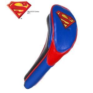 スーパーマン パフォーマンス ヘッドカバー(ハイブリッド用) SUPERMAN(ゴルフ キャラクター ヘッドカバー おもしろ)|egolf