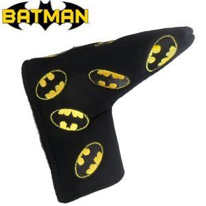 バットマン マルチロゴ パターカバー(ブレード用) BATMAN(ゴルフ キャラクター ヘッドカバー おもしろ)|egolf