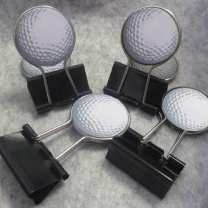 ゴルフ ダブルクリップ ゴルフボール白(メール便対応可) (ゴルフ 雑貨)(ゴルフコンペ景品 ゴルフコンペ 景品 賞品 コンペ賞品)|egolf