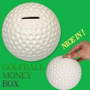 ゴルフボール 貯金箱(ゴルフ おもしろ 面白 雑貨 グッズ)(ゴルフコンペ景品 ゴルフコンペ 景品 賞品 コンペ賞品)|egolf