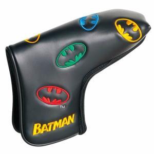 バットマン パターカバー(ピンタイプ) BATMAN(ゴルフ キャラクター ヘッドカバー おもしろ)|egolf