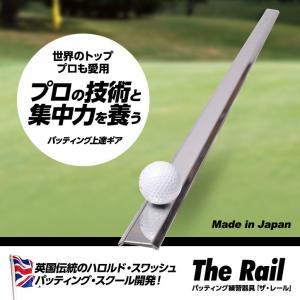 ザ・レール The Rail 転がりのいいパットを実現!|egolf