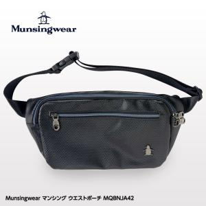 マンシングウェア ウエストポーチ MQBMJA42 Munsingwear 2019SS/2019春夏(ウエストバッグ)|egolf