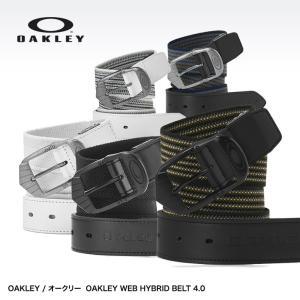 オークリー ベルト OAKLEY WEB HYBRID BELT 4.0 96199JP(ゴルフ ベルト メンズ 男性用)|egolf