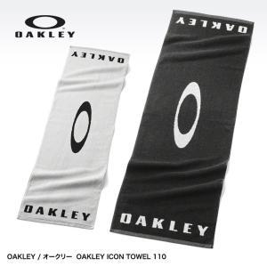 オークリー タオル(ボックス入り) OAKLEY ICON TOWEL 110 JET BLACK 99437JP|egolf