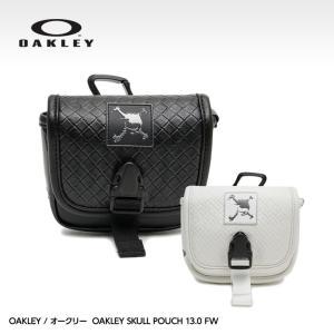 オークリー スカル ポーチ OAKLEY SKULL POACH 3.0 99529JP(ラウンド用品 ゴルフボール ポーチ 距離測定器)|egolf