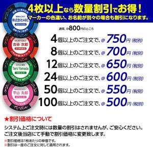 ゴルフマーカー 名入れ カジノチップマーカー(カジノマーカー)(メール便対応可)|egolf|07