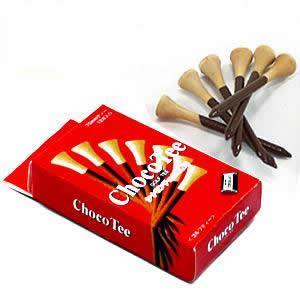 シナモンチョコレートの香り付き チョコティー(メール便対応可) (おもしろ ゴルフ用品)(ゴルフコンペ景品 ゴルフコンペ 景品 賞品 コンペ賞品) egolf