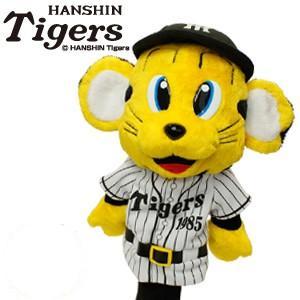 阪神タイガース グッズ トラッキー ヘッドカバー(ドライバー用)(ゴルフ キャラクター ヘッドカバー おもしろ プロ野球 応援)|egolf