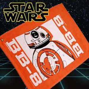 STAR WARS スターウォーズ  BB-8 ゴルフタオル(ゴルフ キャラクター)(ゴルフ用品 グッズ ギフト プレゼント)|egolf