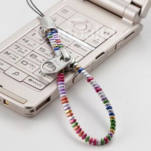 YKKジッパーストラップ 携帯ストラップ(大) マルチカラー AM-299/BK AM-299/WH(メール便対応可) egolf