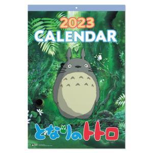 となりのトトロの壁掛けカレンダーです。  登場から何年経っても色あせないトトロとその世界を1年間楽し...