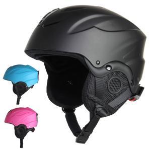 ヘルメット キッズ ジュニア 子供用 スキーウェアなどと合わ...