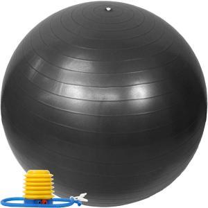 バランスボール 65cm アンチバースト仕様 ポンプ付き E...