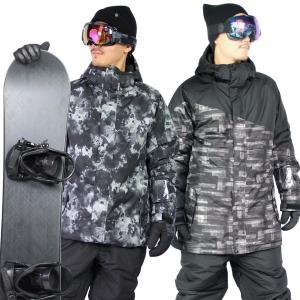 スノーボードウェア メンズ 上下セット ジャケット パンツ ...