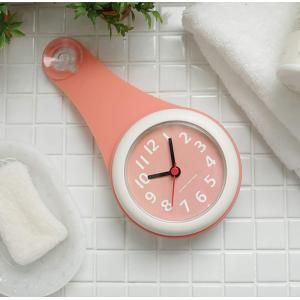 Yiteng バスルーム時計 防水クロック 掛け時計 ウォールクロック 吸盤付き 防水 静音 浴室 キッチン お風呂 家庭用 おしゃれ (ピ eh-style