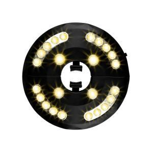 Usmascot パティオ 傘 ライト 暖かい 3 明るさ モード コードレス 24 Led ライト - 4 x Aa 電池式 、傘 ポール eh-style