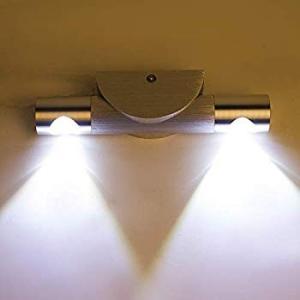 Lightess LED ウォールライト led ブラケットライト 6W 角度調整 高輝度 廊下 寝室 階段 キッチン トイレ 洗面所 室内 eh-style