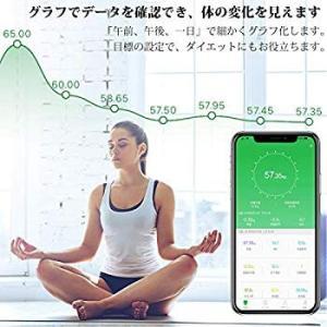 進化版RENPHO 体重・体組成計 体重計 Bluetooth対応 スマホ連動 体重/体脂肪率/BM...