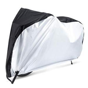 自転車カバー サイクルカバー 210Dオックス製生地 厚手 二重縫製 風飛び防止 破れにくい 防水 防風 UVカット 29インチまで対応 収|eh-style