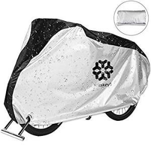 自転車カバー 210D厚手50+ UVカット撥水加工 サイクルカバー 風飛び防止 29インチまで対応 盗難防止リング 収納袋付き 雨/強風/|eh-style