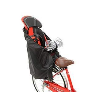 OGK技研 うしろ子乗せ用ソフト風防レインカバー RCR-003 ブラック 専用袋付|eh-style