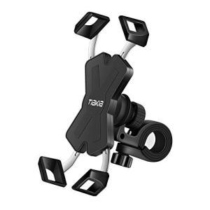 自転車 スマホ ホルダー Tiakia オートバイ バイク スマートフォン 振れ止め 脱落防止 GPSナビ 携帯 固定用 マウント スタンド eh-style