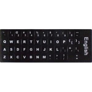 キーボードを英語配列に変換 ラベルマジック 英語キーボードラベル(太字タイプ) MLE-KL-US-...