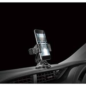 カーメイト 車載ホルダー スマホホルダー クリップ カーボン調 ブラック SA8 eh-style