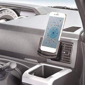 カーメイト 車用 スマホホルダー 車載ホルダー 充電ケーブル装着可能 iPhone8/iPhone7/iPhone6s/iPhone6対応 eh-style