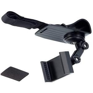 星光産業 スマホホルダー 車用 バイザースマホホルダー ブラック EC-155 車載ホルダー eh-style
